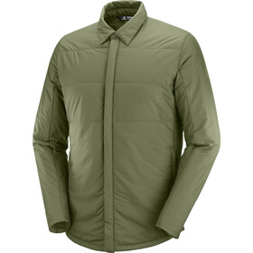 Salomon Snowshelter Insulated Shirt Men olive night